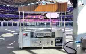 Stadium Food Carts Venues US Bank Stadium Minneapolis Minnesota 4