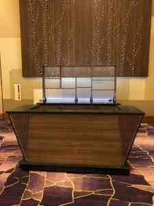Stadium Mobile Bar Cart Venues Campuses Convention Centers Food Beverage HighEnd Vidara Hotel Las Vegas Nevada 5