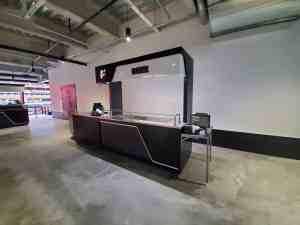 Stadium Mobile Concessions Cart Venues Food Beverage Allegiant Stadium Las Vegas Nevada 7