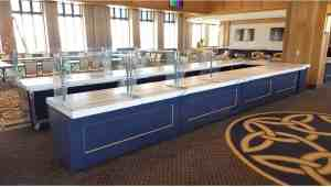 University Club Level Bar Carts Campuses HighEnd University Of Notre Dame SouthBend Indiana 5