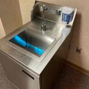 UVC Basin Portable Hand Sinks 1