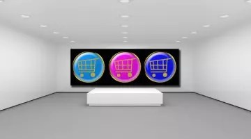 art gallery online sales