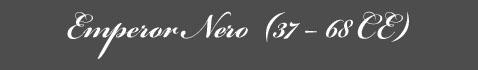 Text: Emperor Nero Signature
