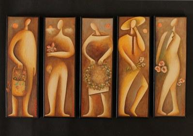 """Christou Matheos art exhibition - """"April"""""""