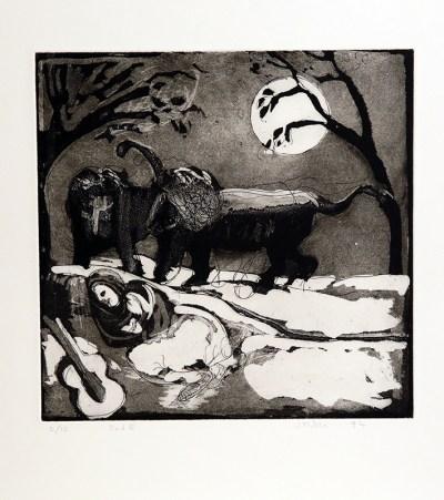 The Sleeping Gypsy by John Kiki