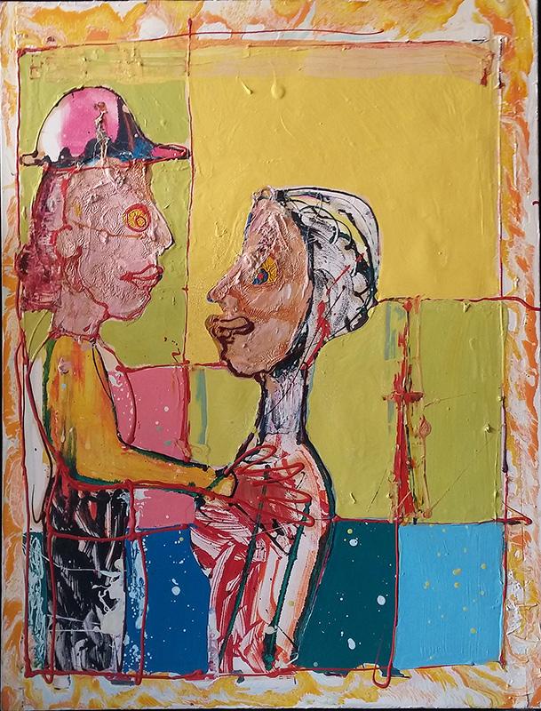 Lovers by John Kiki
