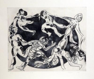 Dance of the Maidens by John Kiki
