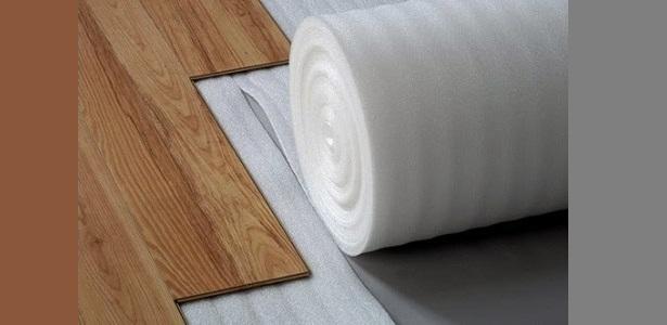 Polyfoam alas lantai kayu