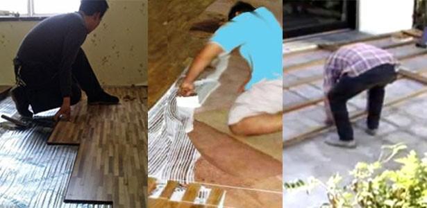 Memasang Lantai Kayu