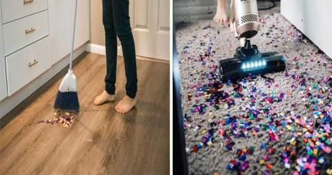merawat lantai karpet dan lantai kayu