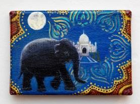 Dreams of India Acrylic on canvas $65.00