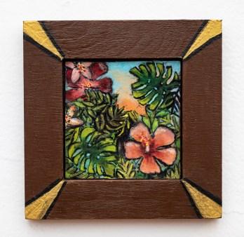 Tropicale Acrylic on board $50.00 (framed)