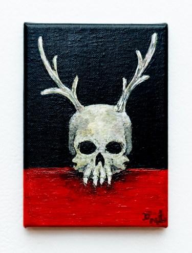 Creature Acrylic on canvas $40.00