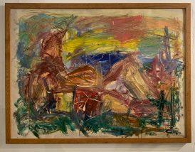 California Dreaming Oil on paper Framed $1500.00