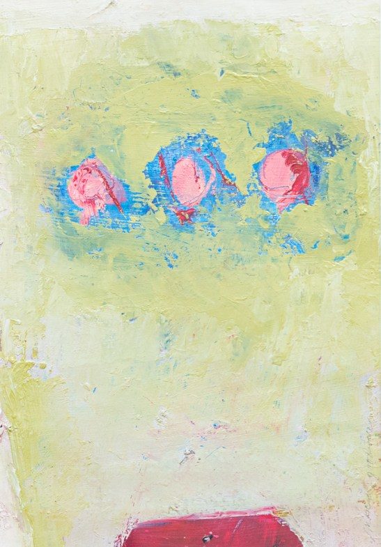 Listen to the Silence Oil on gessoed paper Matted and framed $300.00