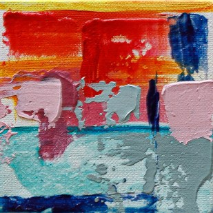Hue Saturation, 2020 Acrylic on canvas $65.00