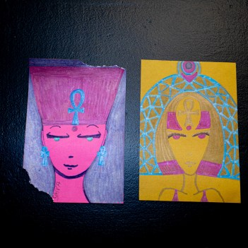 Faces, 2020 Assorted $25.00