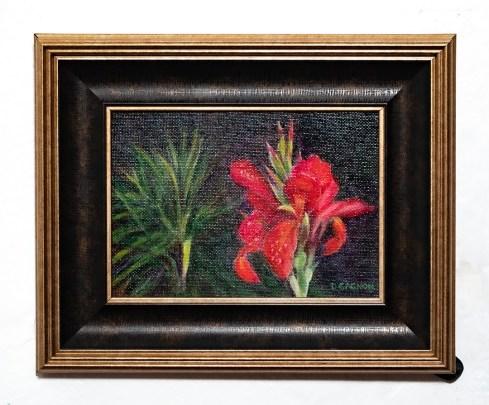 After the Rain Acrylic Framed $150.00