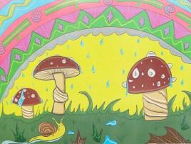 Mushroom Trip, 2021 Digital Framed $25.00