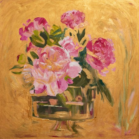 Pioneer Flowers Oil on canvas $1000.00