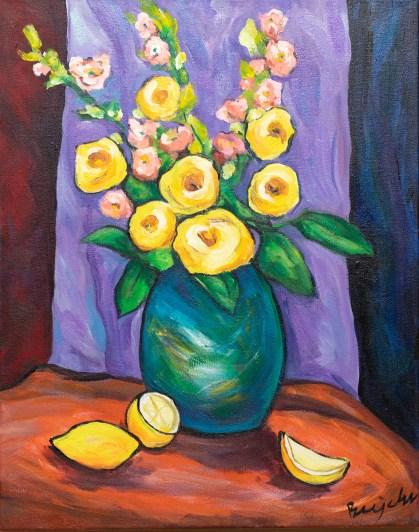Still Life Painting on canvas