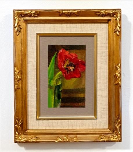 Tulip, 2020 Oil on canvas Framed $400.00