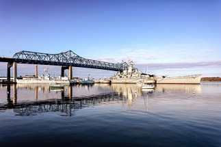 "Battleship Cove Photograph on canvas 20"" x 30"" $235.00"