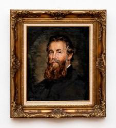 Herman Melville Oil on canvas Framed $4000.00