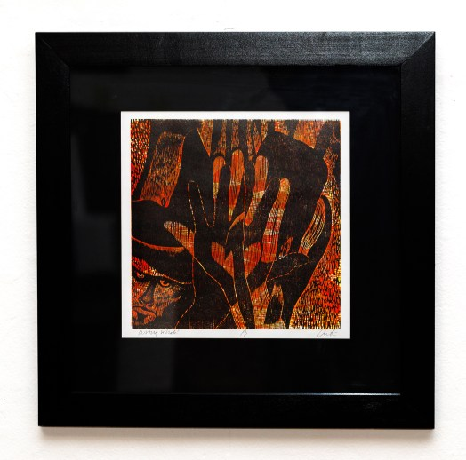 Wrong Whale! Relief print $225.00