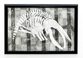 KOBO Aquatint etching $50.00