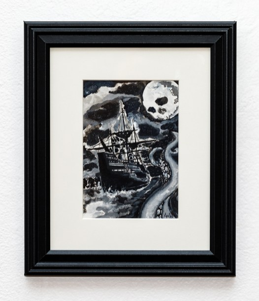 Be Not Afraid Watercolor Matted and framed $85.00