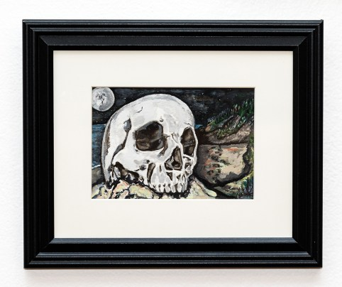 What Remains Watercolor $85.00
