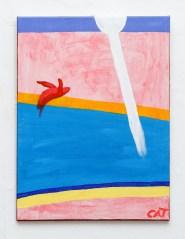 Milk of Queens, 2021 Acrylic on canvas $525.00