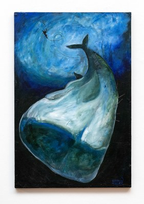Down Acrylic on canvas $400.00