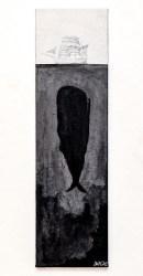 Untitled Acrylic on canvas $175.00