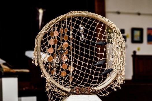 Ernestina Morrissey Pieces Mixed media $750.00 Copper, mast hoop, and base from the Schooner Ernestina Morrissey