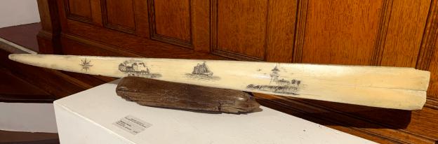 Scrimshaw Swordfish bill $150.00