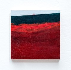 Suzanne Archibald Untitled (with red) Acrylic on wood $200.00