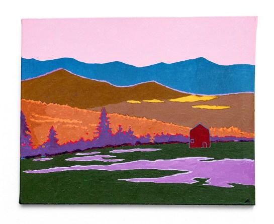 Ricardo Maldonado The Valley, 2019 Acrylic on canvas $680.00