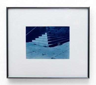 John Wojtowics Somewhere in New Bedford #2 Cyanotype $150.00