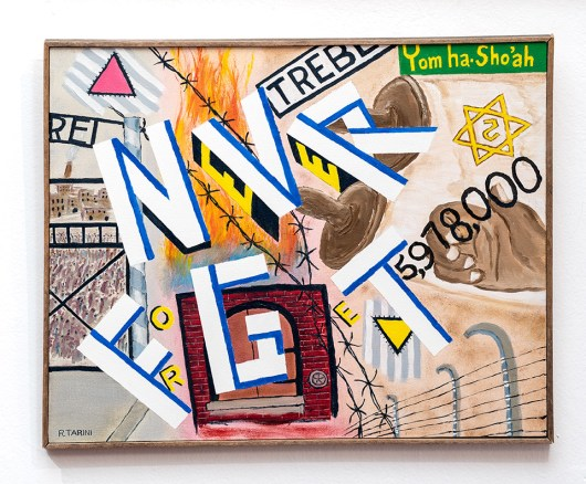 Ramon Tarini Never Forget, 2011 Oil on canvas $325.00