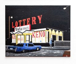 Don Hammontree Donut Shop, Attleboro Acrylic & ink $240.00