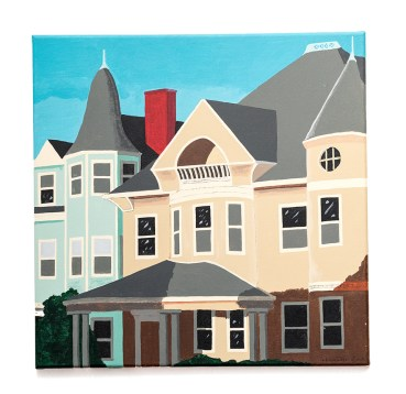 Don Hammontree Plymouth Ave., Fall River Acrylic & ink