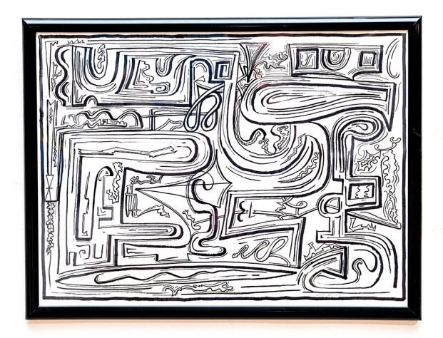 Clint Pollitt Untitled 6 Pen $250