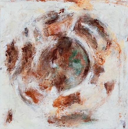 Mieko Asada Ceiling Panels 4 Oil on canvas $1500