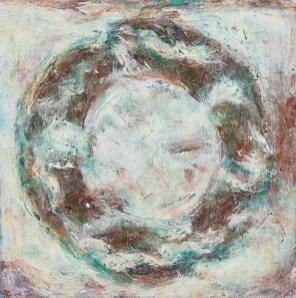Mieko Asada Ceiling Panels 1 Oil on canvas $1500