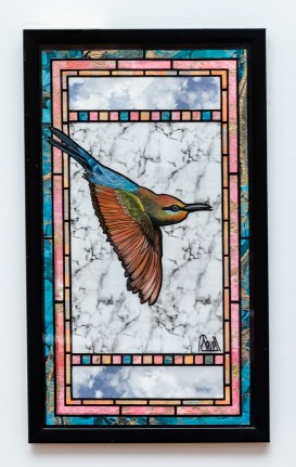 Robert Sewell Bee Eater Colored pencil, mixed media $200.00