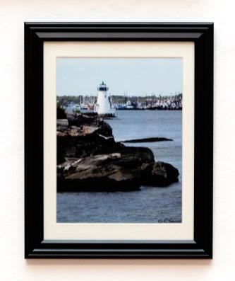 Ramon Tarini Palmer Island Light Photograph $130