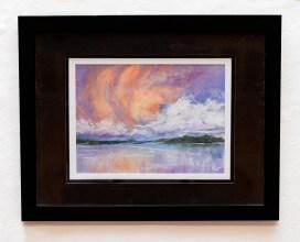 Paula Williams Kochanek Storms-A-Brewing Pastel on paper $450
