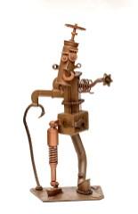 Johnny McCoy Chester Copper Pot, 2020 Metal sculpture $425
